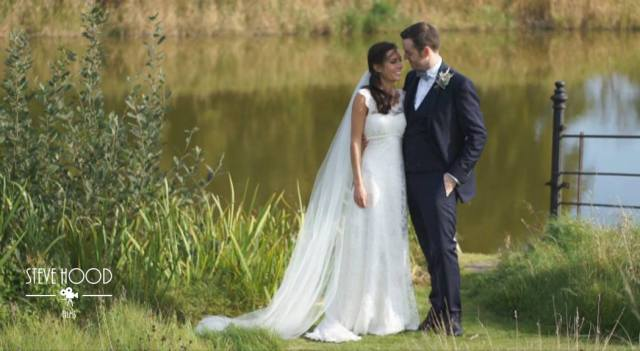 romantic Norfolk English wedding by Steve Wood films