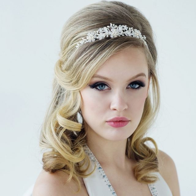 Bethany Crystal Luxe Tiara - 8a - 95.991200 press