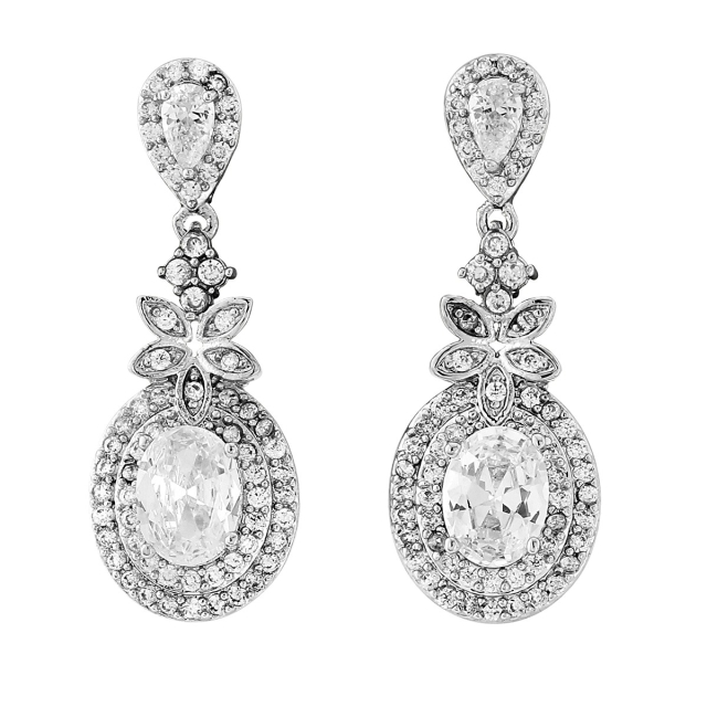Crystal Drop Earrings - ER320 45.00 1200 1200