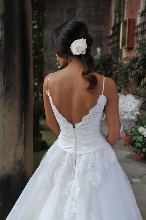Elderflower ivory & co wedding dress