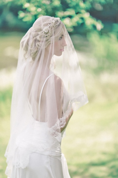 Anne Guise Silk Wedding Veils UK