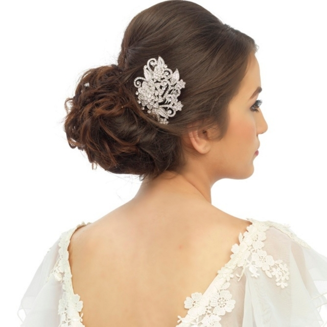 Floral Bridal Haircomb HC39 29.99 1200