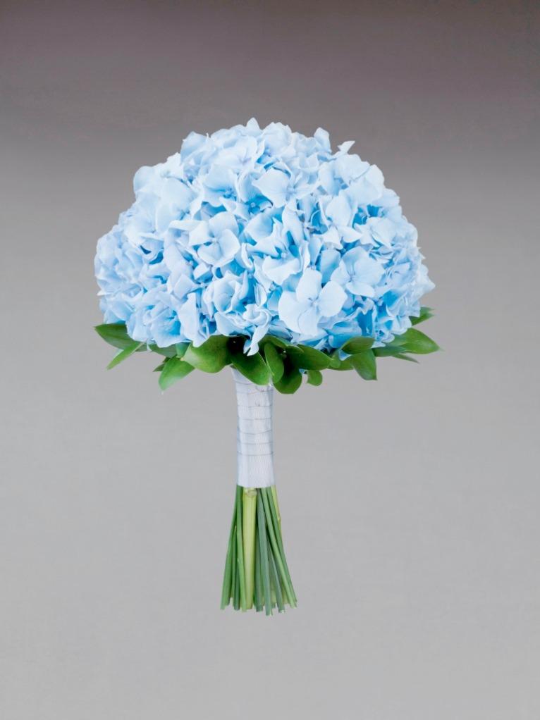 Interflora Vera Wang Wedding Collection - Modern - Blue Hydrangea Bridesmaid Bouquet
