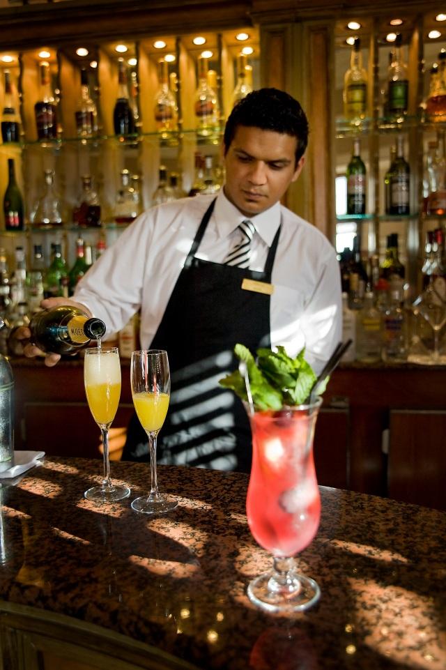 Phoenicia Hotel Wedding Venue - Club Bar Barman