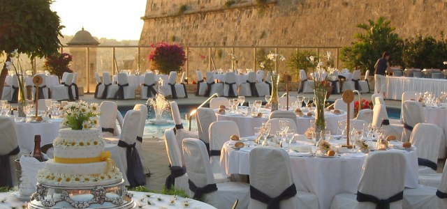 Phoenicia Hotel Wedding The Bastion Pool Deck