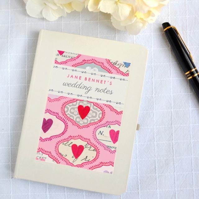 Wedding notebook 1