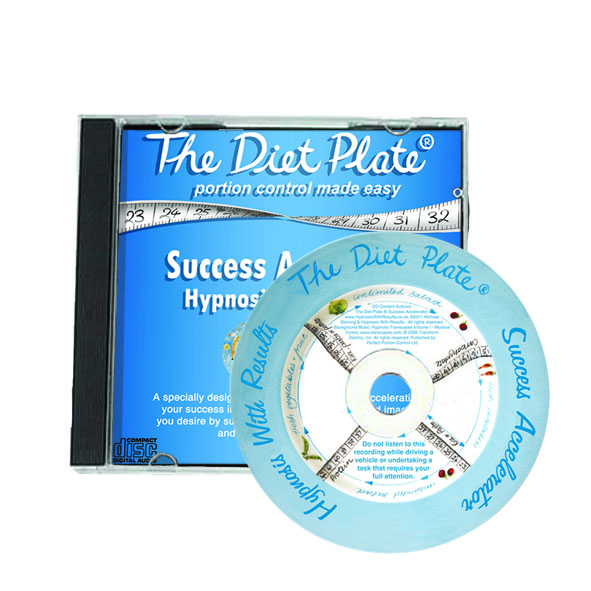 Diet Plate Success Accelerator, Hypnosis CD for additional motivation
