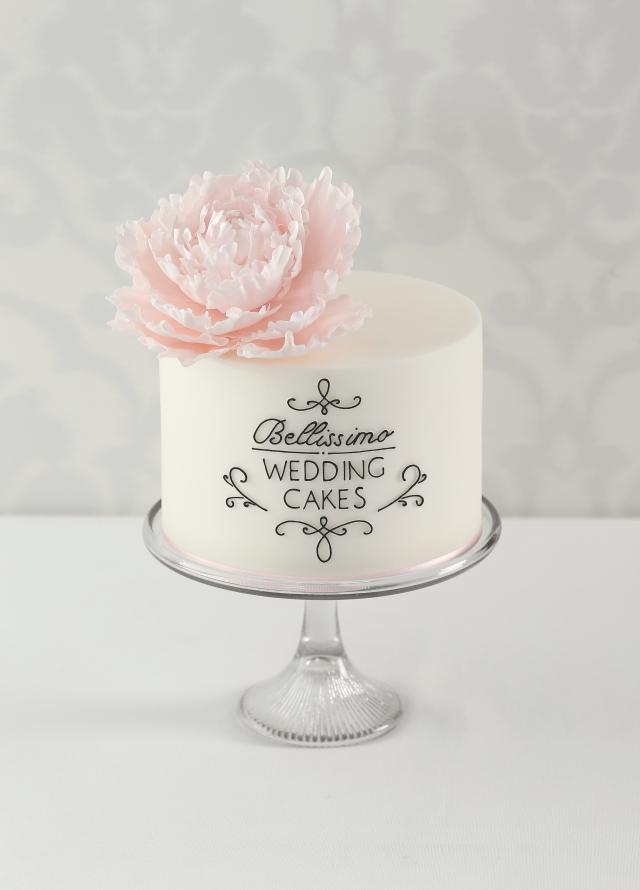 Bellissimo Wedding Cakes Peony Cake