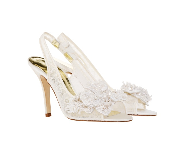 HANNA embroidered Luxury wedding shoes by Freya rose
