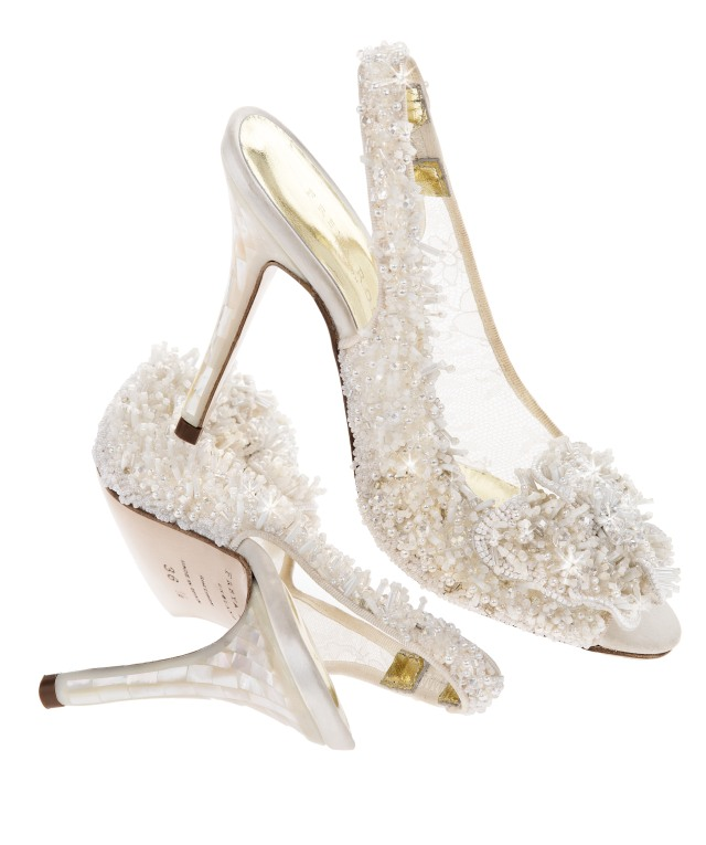 snowqueen Luxury wedding shoes by Freya rose