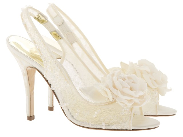 Yuuka Luxury wedding shoes by Freya rose