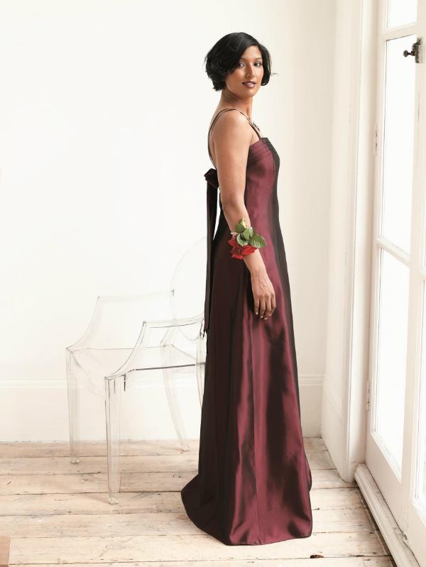 Burgundy Bridesmaid Colour Me Beautfiul Be A Beautiful Bride low res
