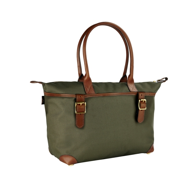 Travel bag by champman UK DERWENT_LARGE_NYLON_TOTE_OLIVE