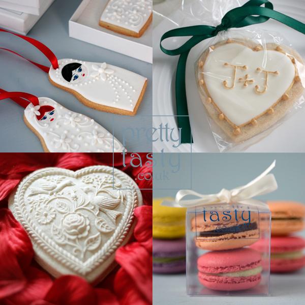 wedding cookie favours - Pretty Tasty