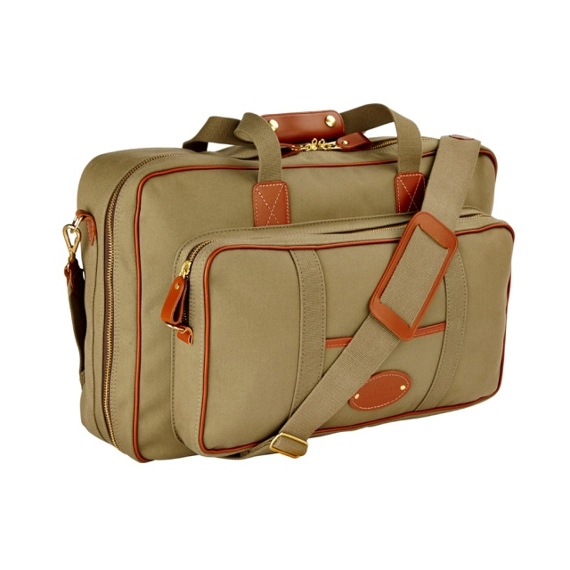 Travel bag by champman UK FLIGHT-SUITCASE_NWF21_OLIVE_GREEN