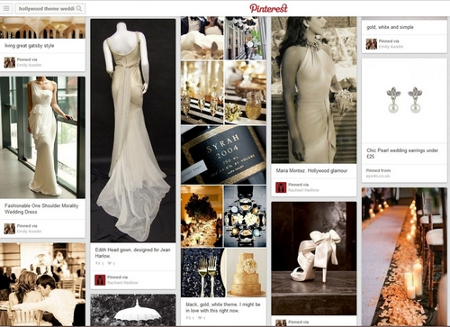 Hollywood glamour wedding ideas pinterest ayedo