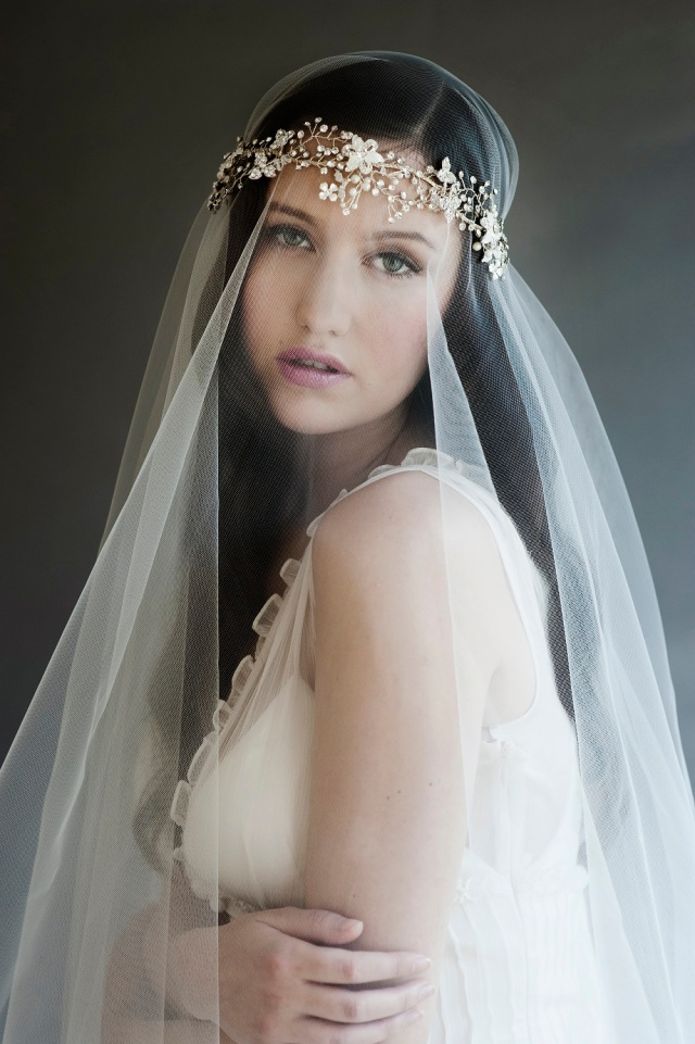 Lily Bella vintage wedding veil designs UK