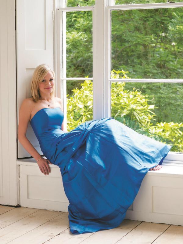 Long blue bridesmaid dress Colour Me Be A Beautiful Bride low Res