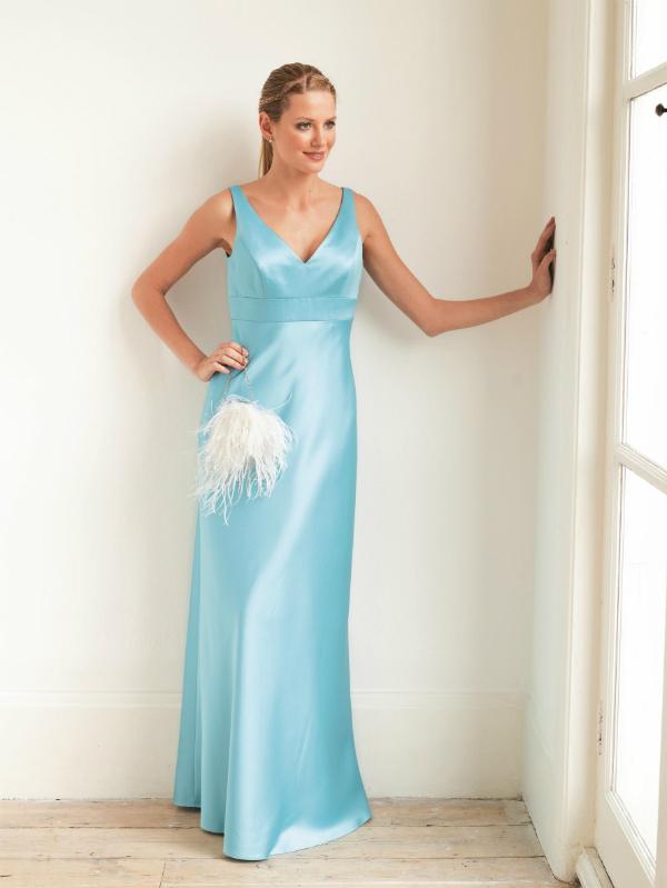 Pale Blue Bridesmaid Dress Colour Me beautiful Be a Beautiful Bride low Res