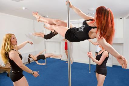 Pole Dancing Dance classes hen party idea from gohen.com