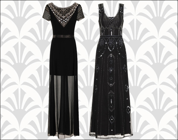 black vintage bridesmaids dresses www.rockmyvintage.co.uk