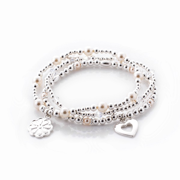 Sweet Daisy Bracelet Trio love lily rose