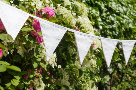 the doodle bunting unique wedding bunting