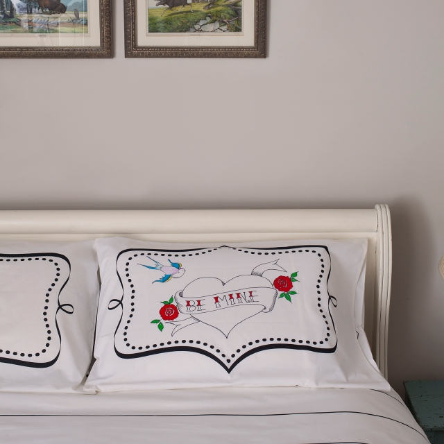 the doodle pillowcase fun wedding gift