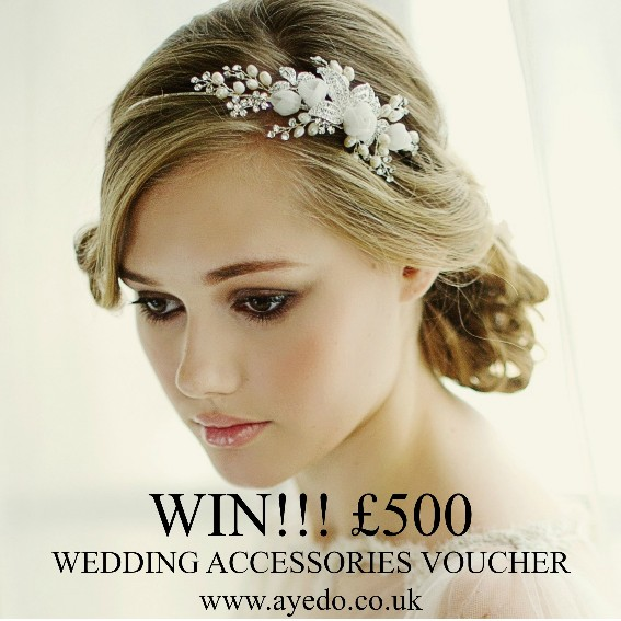 WIN £500 Wedding Accessories Voucher http://bit.ly/1CNqqVc Competition closes on Thursday, 30 April 15
