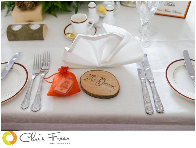 diy wedding favour and table number ideas