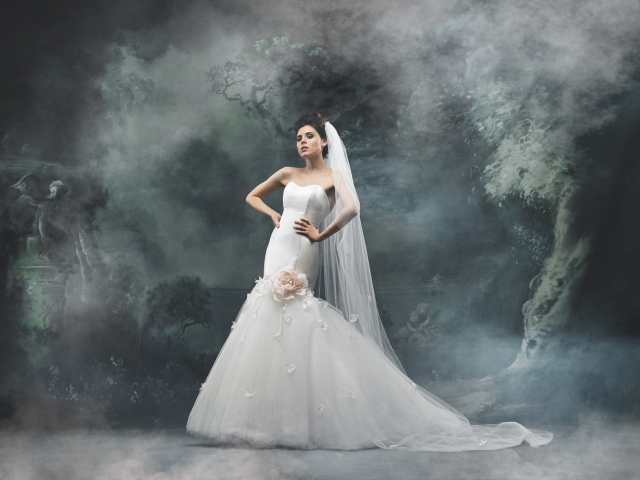 Acacia Bridal Gown by Britta Kjerkegaard, The Couture Gallery London