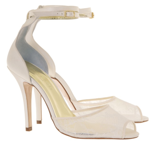 Carla Freya rose weddings shoes