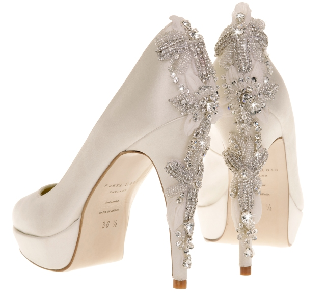 Darling.Back Freya rose weddings shoes