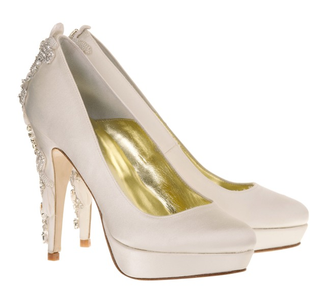 Darling Freya rose weddings shoes