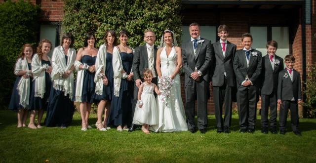 navy bridemaids & best men