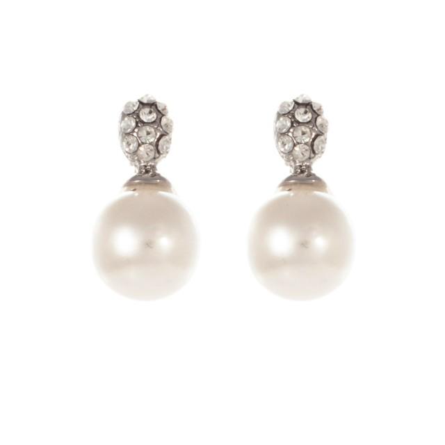 GER239 pearl wedding earrings 12.99