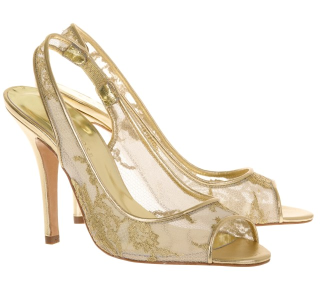 Lara Freya rose weddings shoes