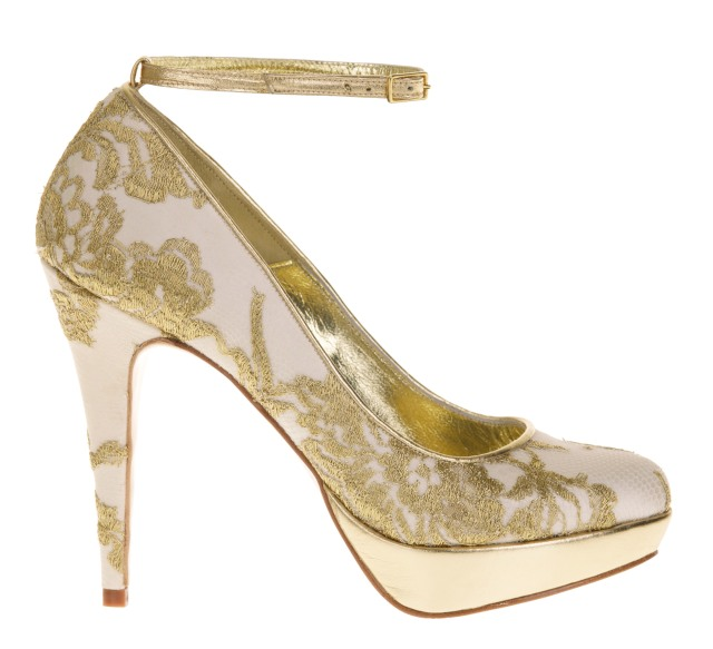 Lourna Freya rose weddings shoes