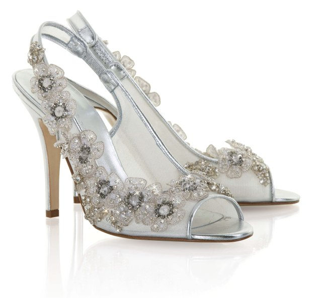 Mara Freya rose weddings shoes
