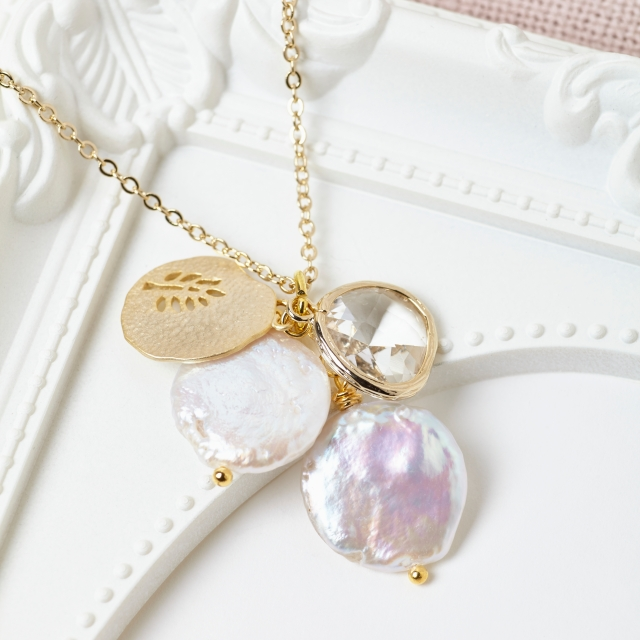 Misskukie Crystal Cluster Necklace