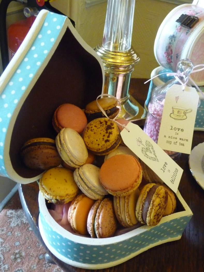 washingborough hall UK macaroons