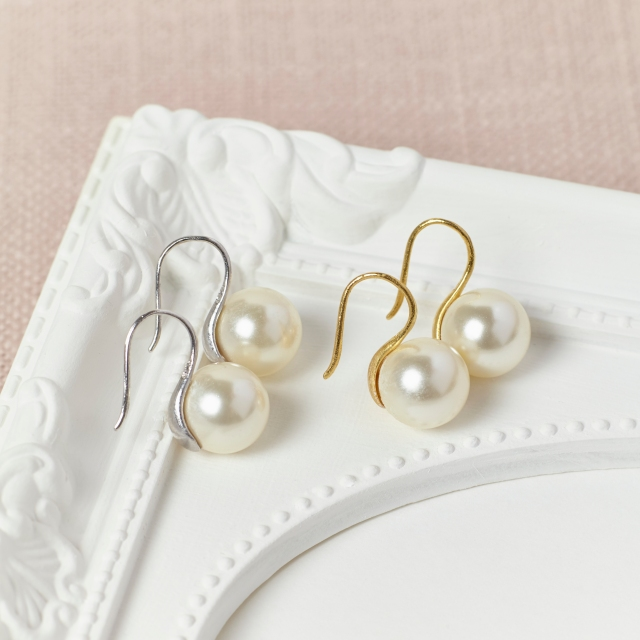 Pearl Earrings by Misskukie