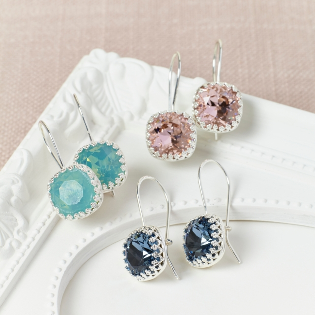Swarovski Earrings by Misskukie