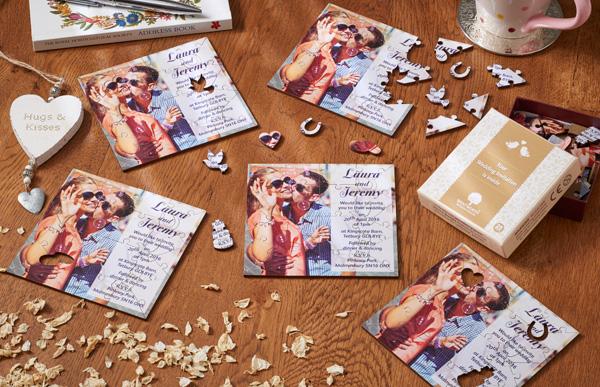 wedding-invites jigsaws.co.uk