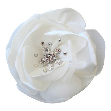 Crystal wedding hair flower comb UK 12.99