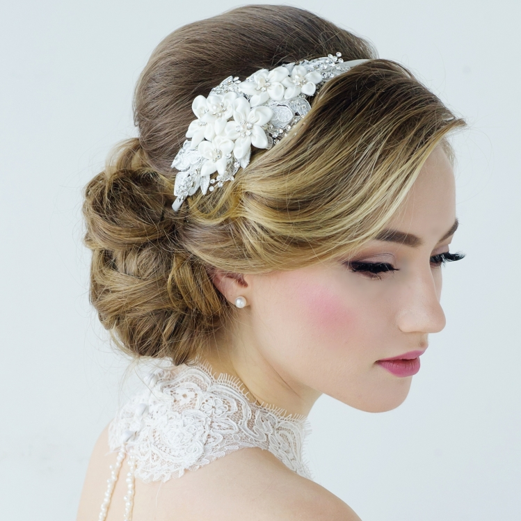 GRACE WEDDING HEADBAND - HDB4 117.00