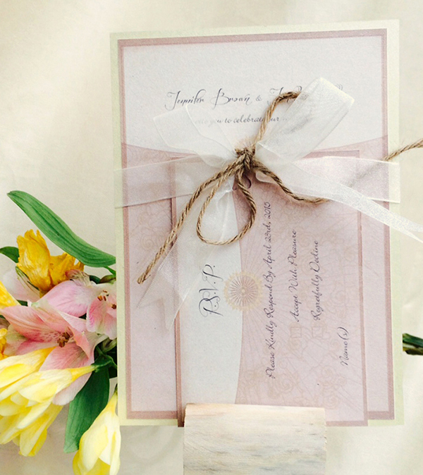 rustic wedding stationery http://www.thefrommshoppe.com/