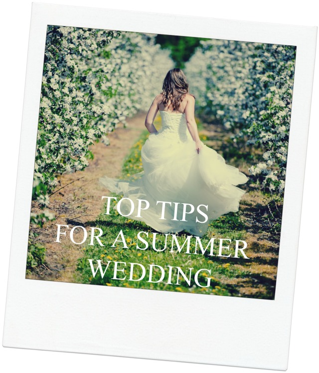 top tips for a summer wedding www.clnphotography.co.uk