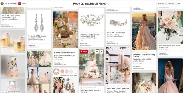 Rose Quartz blush pink trends