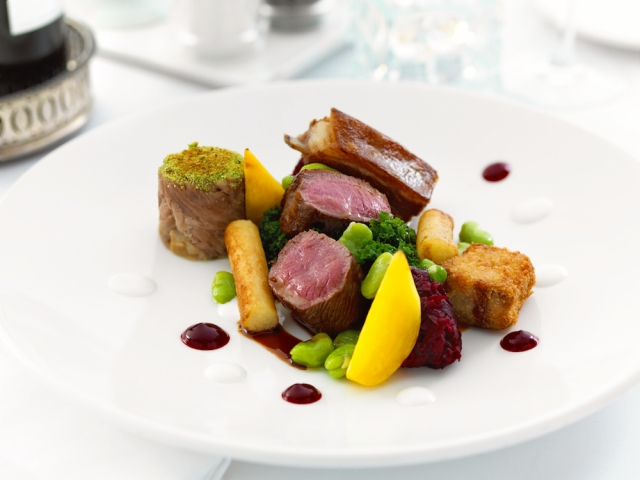 lamb-small wedding menu